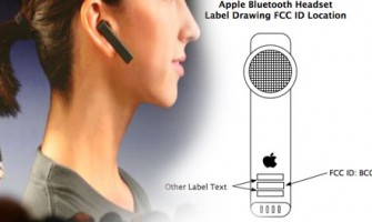 Auricular Bluetooth de Apple aprobado por la FCC