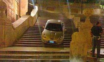 Un colombiano borracho en Roma