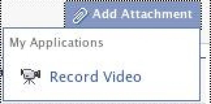 Graba videos desde el wall de Facebook