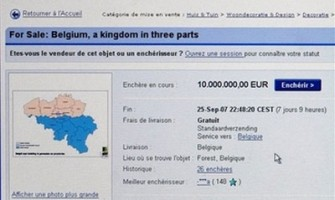 Intentaban vender a Bélgica en eBay