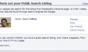 Facebook pasaría a ser las nuevas páginas blancas de internet?