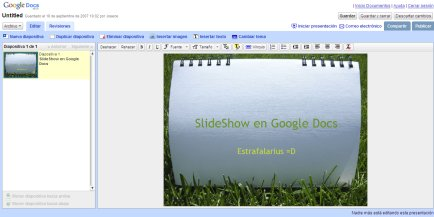 Presentaciones a-la-google