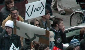 ¿Cómo protesta un geek?