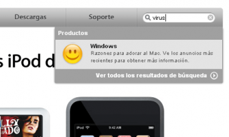 "Apple: ""Los virus son solo de Windows"""
