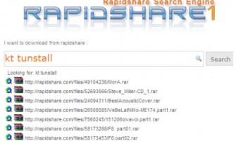 Buscador de RapidShare