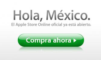 Apple Store México, por fín online!