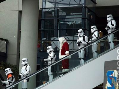 Arrestan a Santa