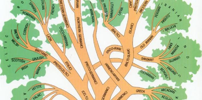 Árbol Genealógico de los lenguajes