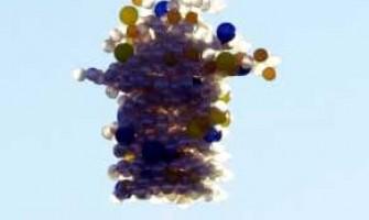 ¿Cuántos globos se necesitan para volar?