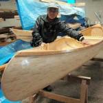 Una canoa de palitos chinos