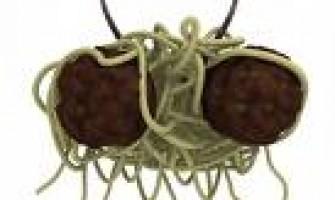 Estatua del Monstruo Espaguetti Volador