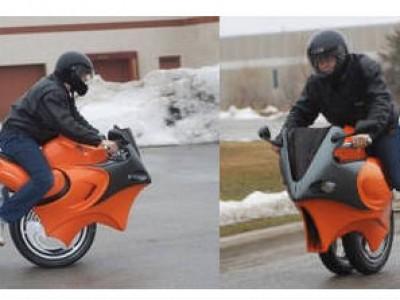 Ni moto, ni Segway, sino todo lo contrario
