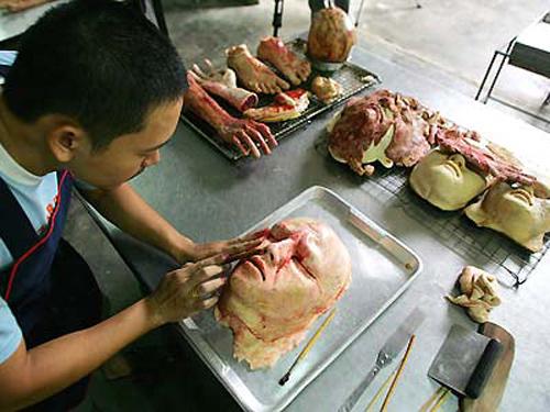 Redefiniendo el canibalismo de forma artística, algo así