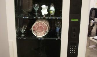 Máquina vending para liberar el stress