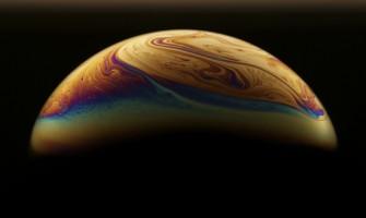 Planetas de jabón