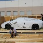 Desempaquetando un Lamborghini Reventón