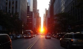 Solsticio urbano en Manhattan