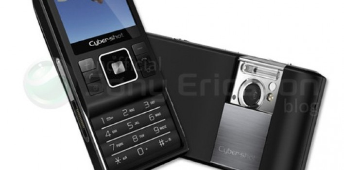 Sony Ericsson C905 con cámara de 8.1 Megapixeles