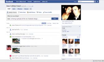Así se verá Facebook en unos días…