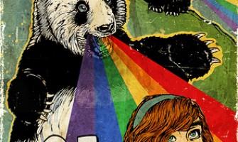 Flickr y su panda que vomita arcoiris