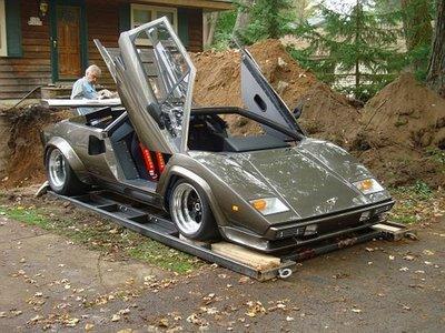 Lamborghini hecho a mano