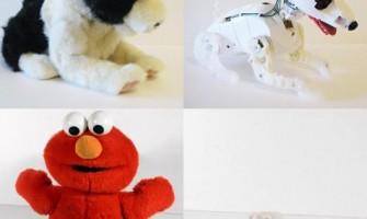 Muñecos de peluche sin el peluche
