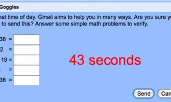Gmail con seguro contra borrachos