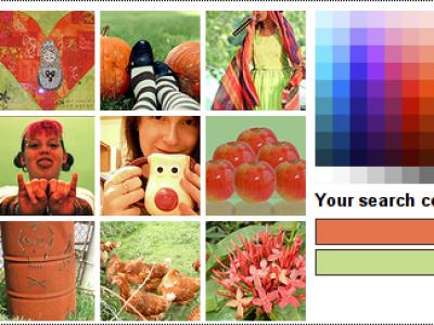 Flickr por colores