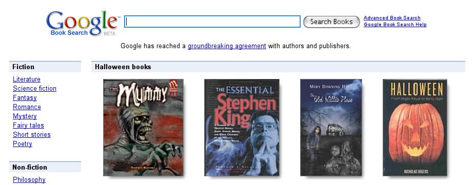 Google abrirá su tienda de libros