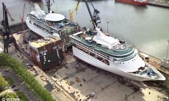 Alargando un crucero