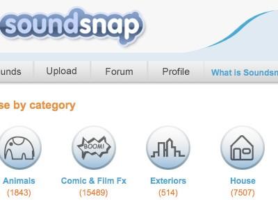 Soundsnap, el repositorio de sonidos