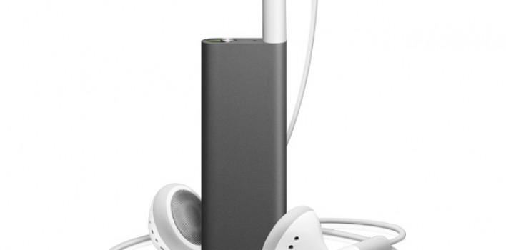 El nuevo iPod Shuffle no tiene botones!