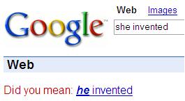 Google es machista
