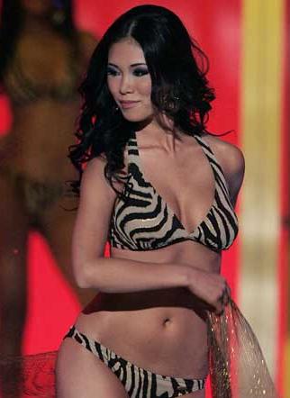 La japonesa Riyo Mori, Miss Universo 2007