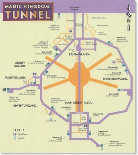 tunnel disney