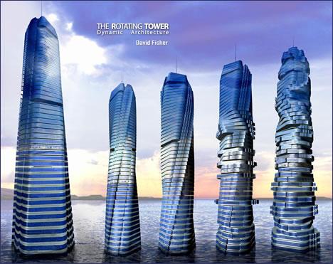 Torre giratoria Dubai