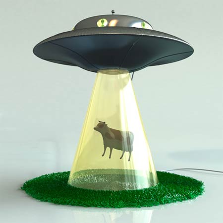 Lámpara extraterrestre