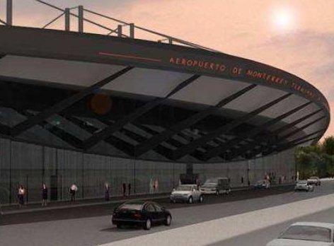 Nueva Terminal B del aeropuerto de Monterrey