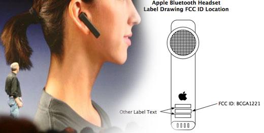 Auricular Bluetooth de Apple aprobado por la FCC