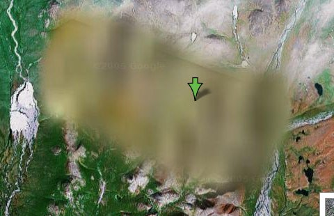 Imágenes satelitales censuradas