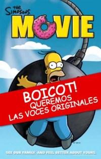 Los Simpsons la película sin las voces originales?