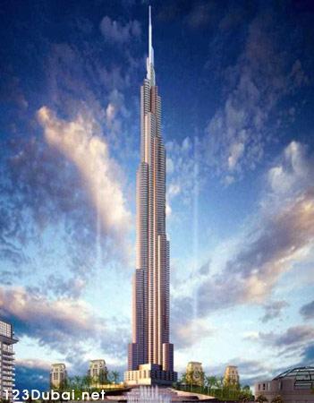 El Burj Dubai ya es la construcción más alta del mundo