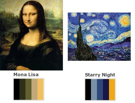 El color de las obras maestras
