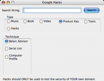 GoogleHacks