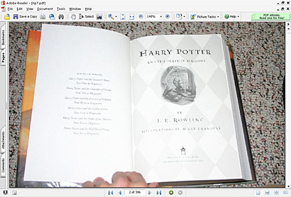Harry Potter y el número de serie
