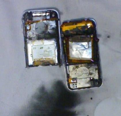 Le explota iPhone al intentar desbloquearlo