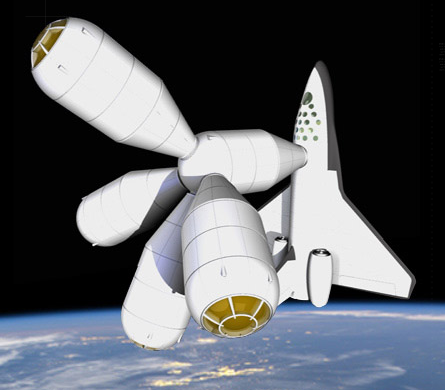 Primer hotel espacial abrirá en el 2012