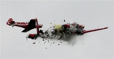 Fatal accidente aéreo en video