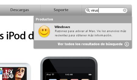 "Apple: ""Los virus son solo de Windows"""