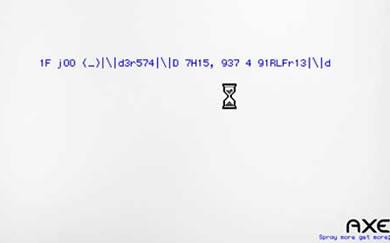Publicidad de AXE, para geeks